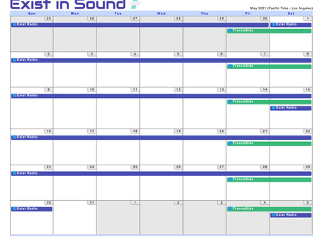 Tranceplayer Schedule for 05/21