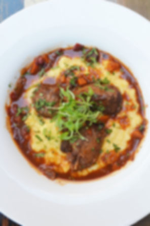 Manhattan Meatballs with ground veal, pork, beef, and ricotta