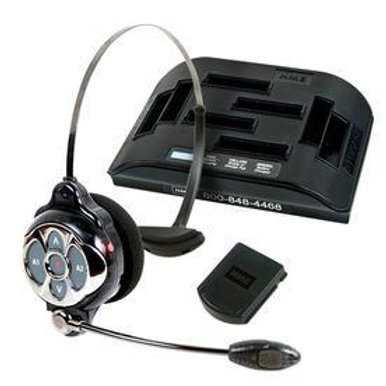 HME Chrome All-in-One Headset/Charger Combo