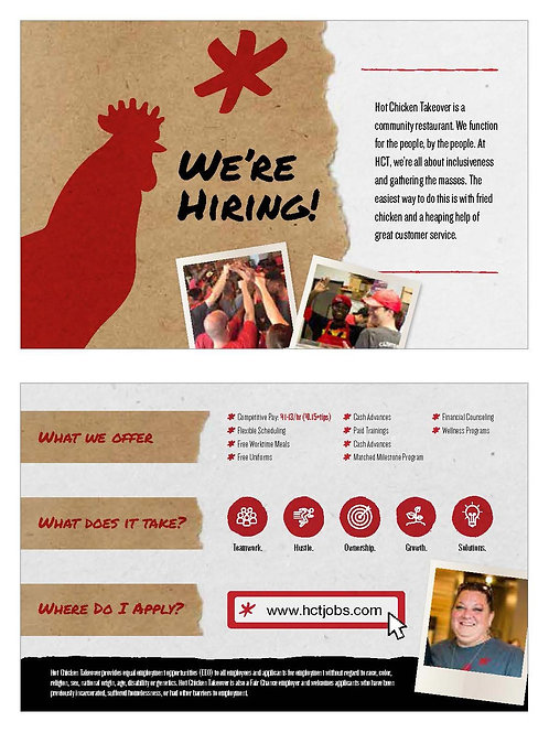 We are Hiring! HR Hotcards (pack of 500)