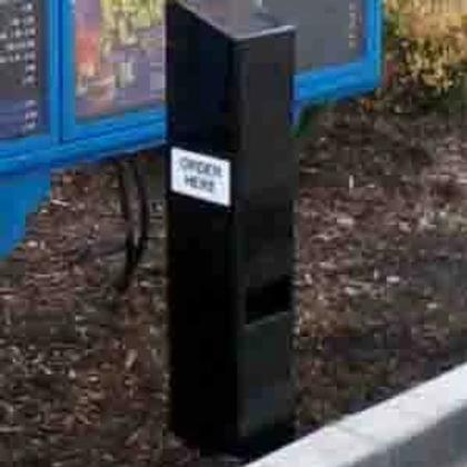 Black Speaker Post from HME
