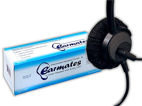 Earmates Disposable Headset Cover - 100 pack