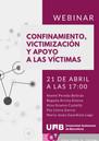 Confinamiento, victimización y apoyo a las víctimas