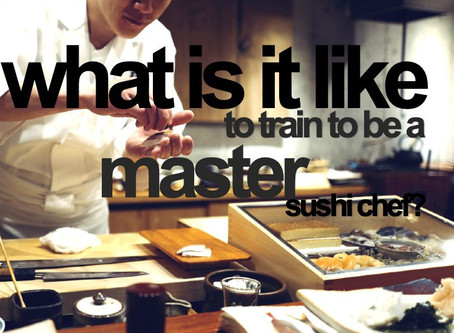 What is it like to train to be a master sushichef?