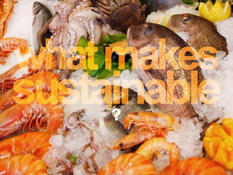 "What makes a fish ""sustainable""?"