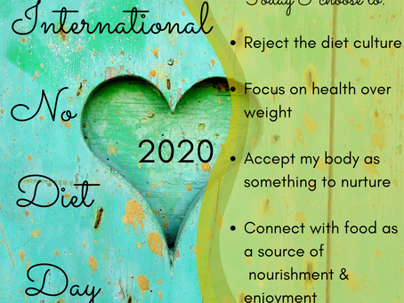 Why I Support International No Diet Day