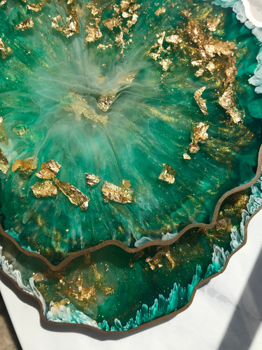 'EMERALD OCEAN' COASTERS