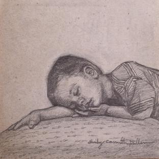 Sleeping Boy - Graphite