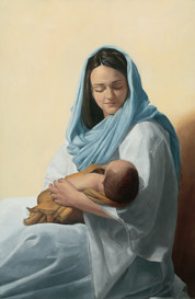 Mary Holding Christ