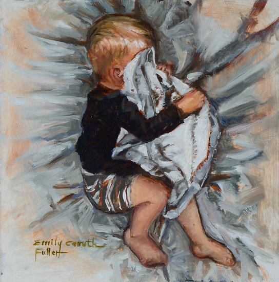 Sleeping Child Variation III Canvas Print
