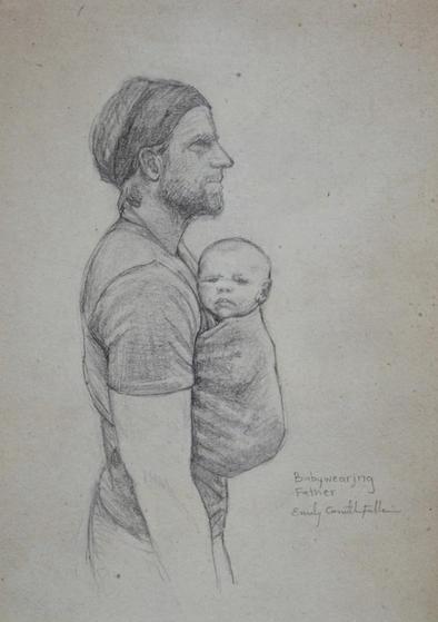 Babywearing Father