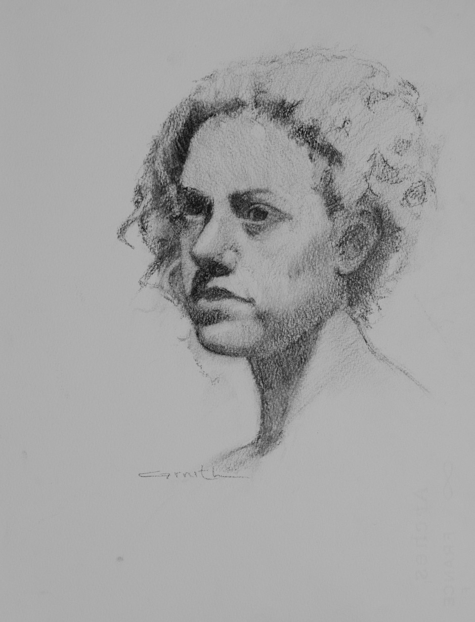 Study of a Classic Woman