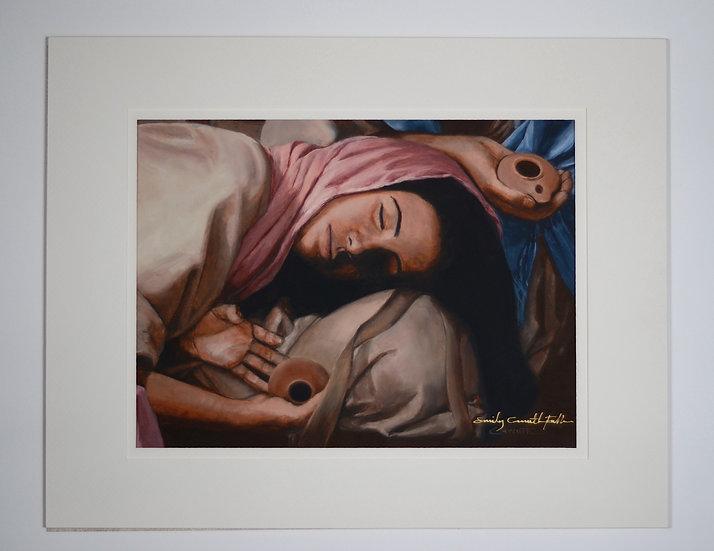 "Asleep – 7.5x10"" Print"
