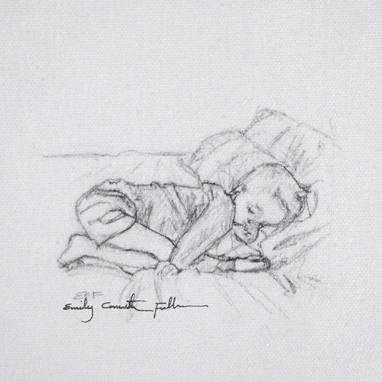 Sleeping Child V.IV – Canvas Print