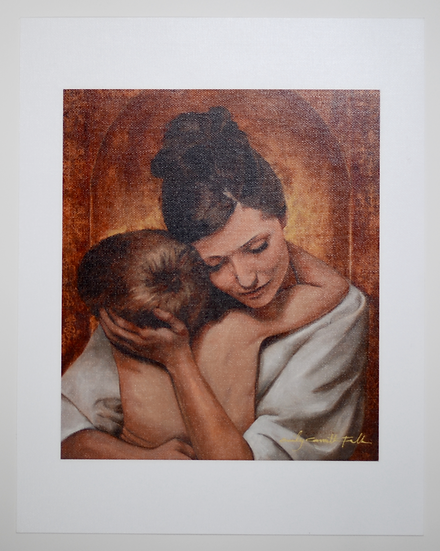 """A Mother's Embrace - 11x14"""" Giclee Print"""