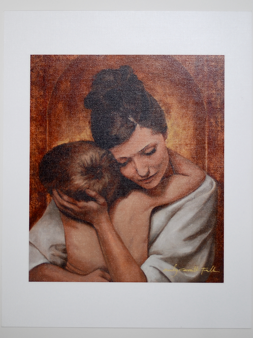 A Mother's Embrace Print