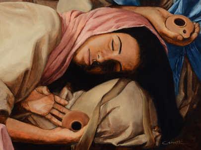 Asleep From The Ten Virgins Series.JPG