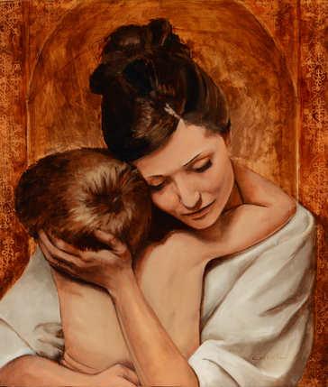 A Mothers Embrace.JPG