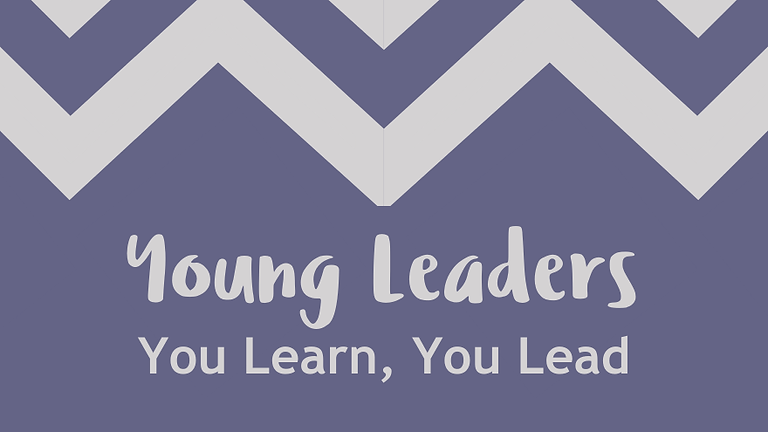 Young Leaders - You Learn, You Lead