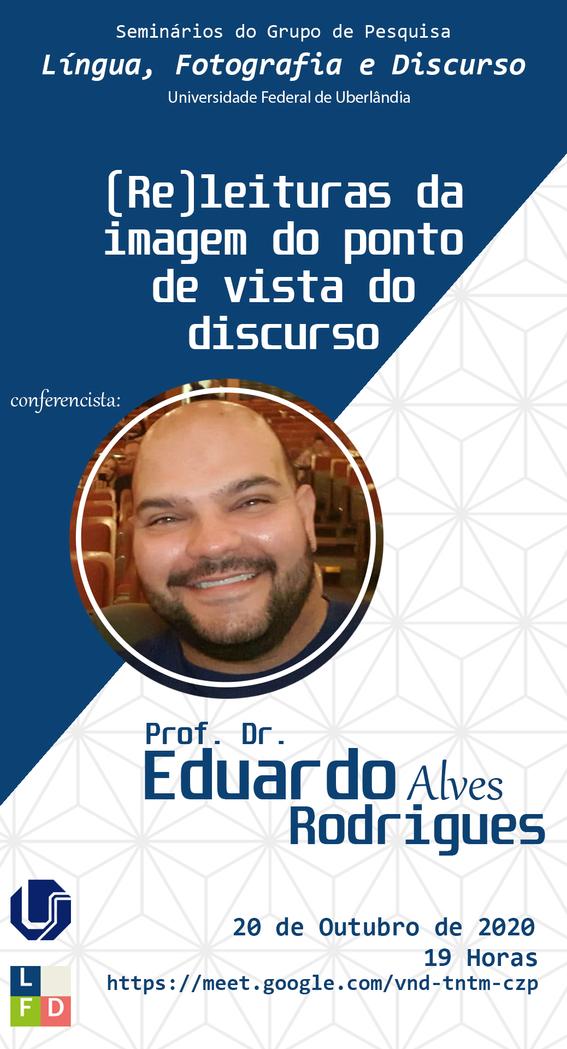 Cartaz Seminários do GPLFD - Eduardo Alv
