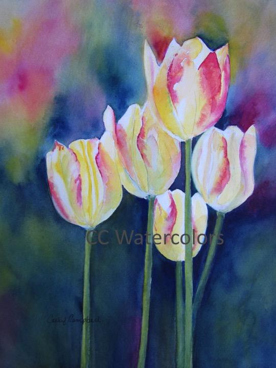 """Yellow Tulips"""
