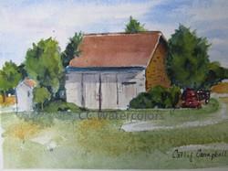"""""""Little Cutchogue Barn"""""""
