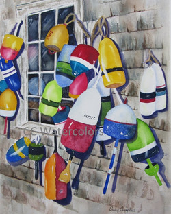 """Hanging Buoys"""