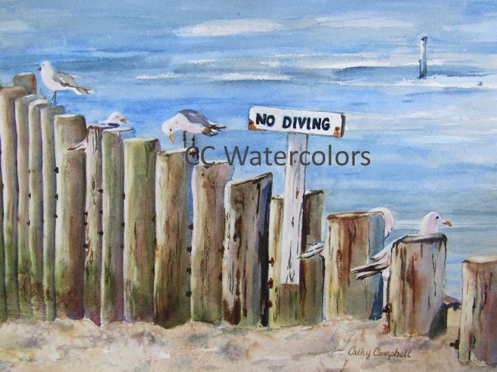 """""""No Diving"""""""