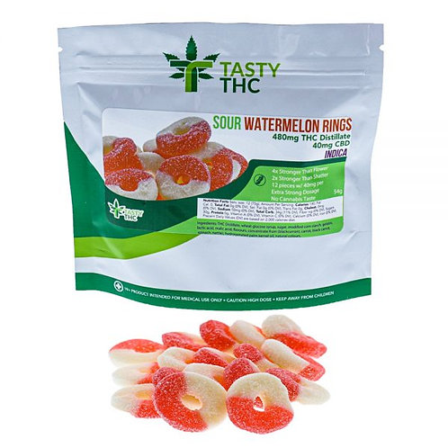 Sour Watermelon Rings (Indica)