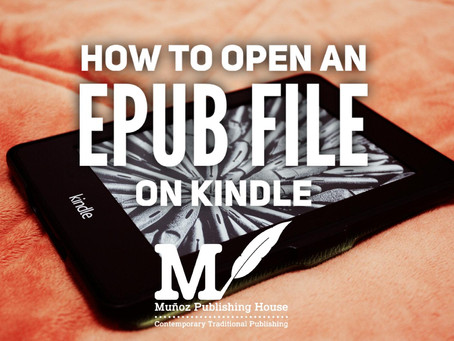 How to Read an EPUB file on Kindle