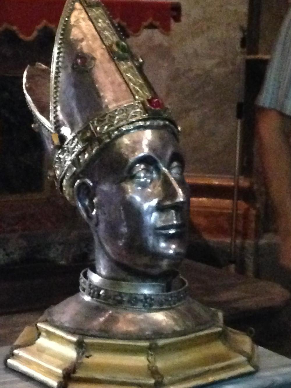 Reliquiario di San Giovenale proveniente dalla Cattedrale di Fossano