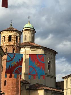 Asti torre rossa di San Secondo