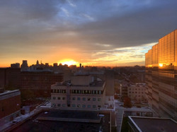 Sunset in Baltimore