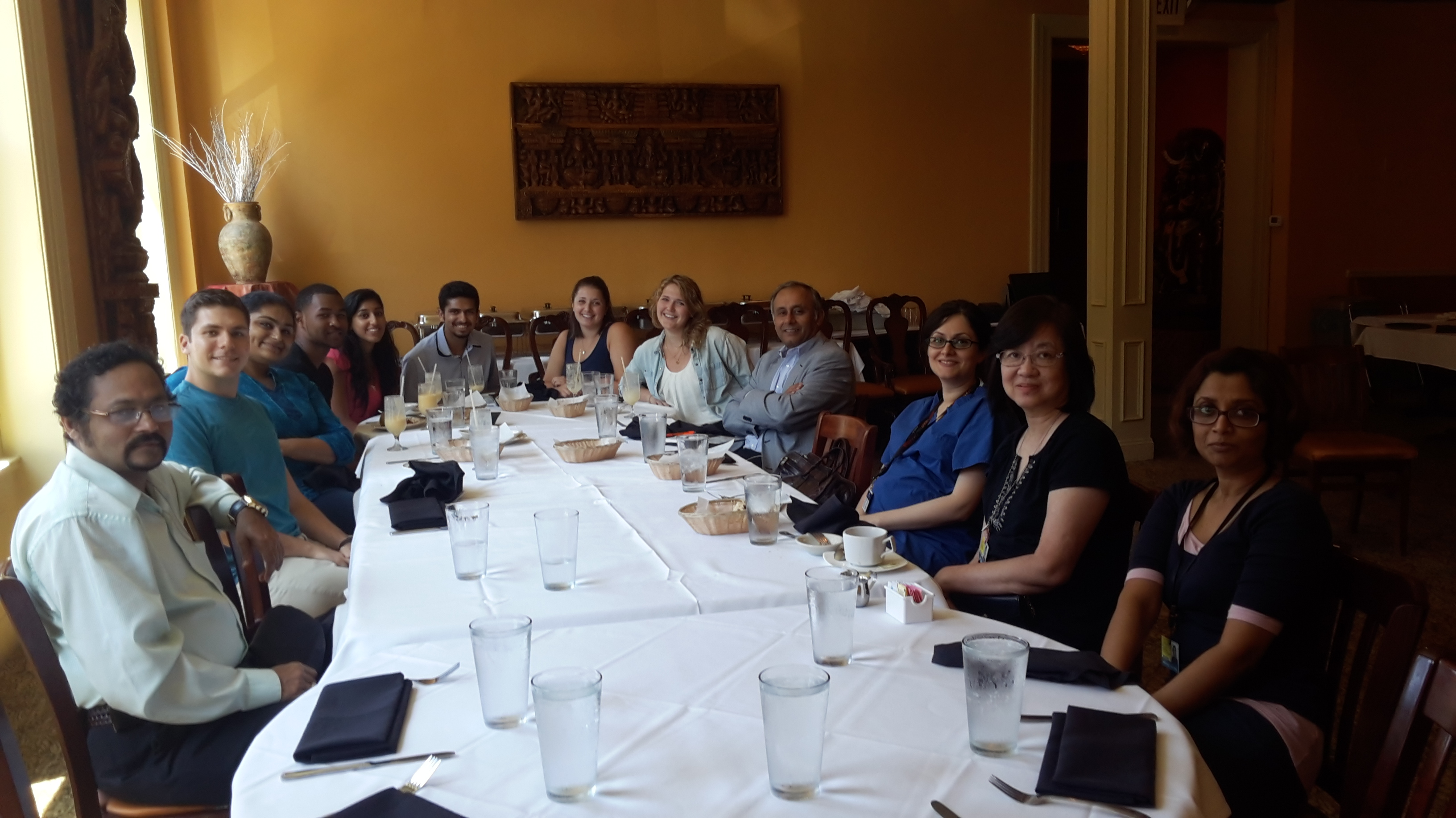 Pasricha lab lunch