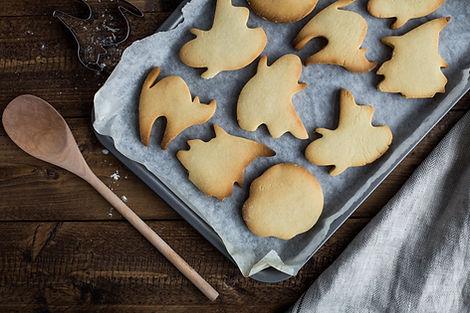 Baking Halloween Cookies