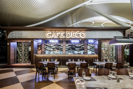 Cafe Deco 峰景餐廳 (Shanghai Pudong Airport上海浦東)