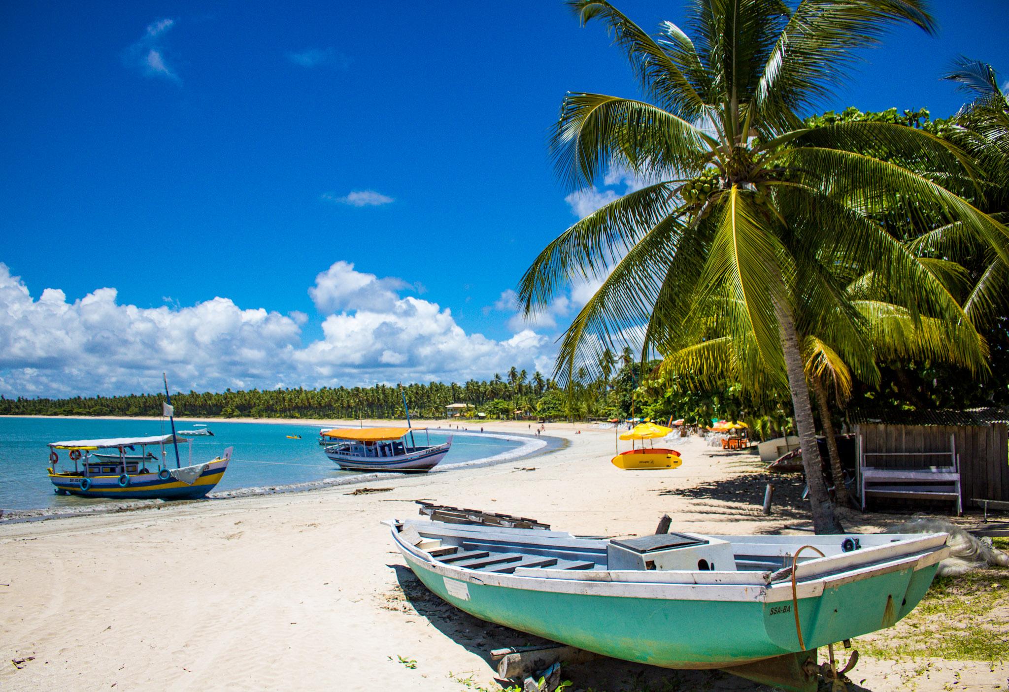 Praia de Garapuá - Bahia