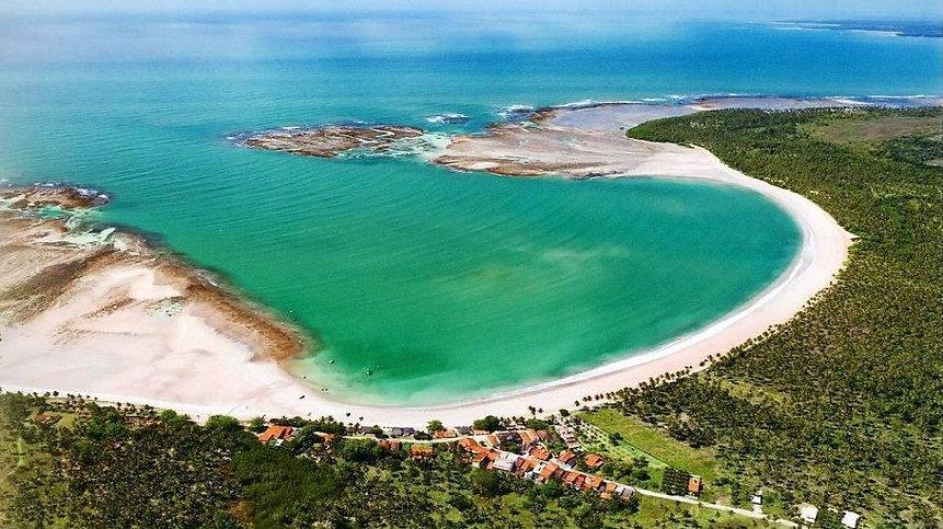 Enseada de Garapua-Bahia-Brasil foto Rui