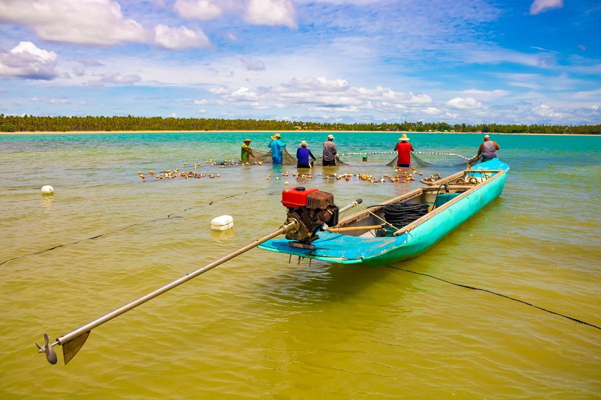 Pescadores Garapuá Brasil