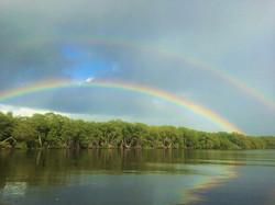 Arco-íris Rio Una