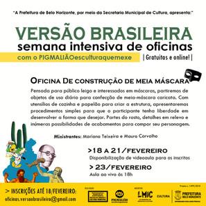 OFICINA DE CONSTRUÇÃO DE MEIA MÁSCARA