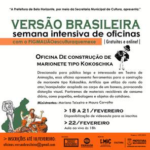 OFICINA DE CONSTRUÇÃO DE MARIONETE OKOSCHA
