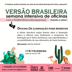 OFICINA DE ILUMINAÇÃO PARA BONECOS