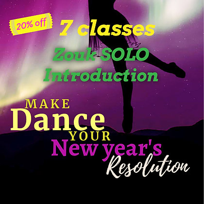 Zouk SOLO Intro - New Years Deal