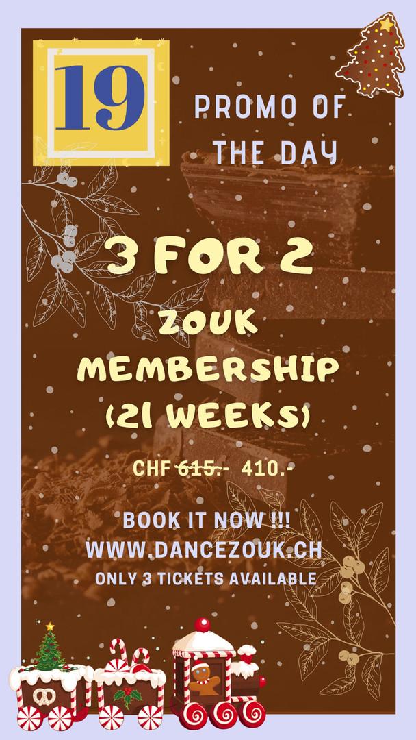 DanceZouk - Advent Calendar - Day 19