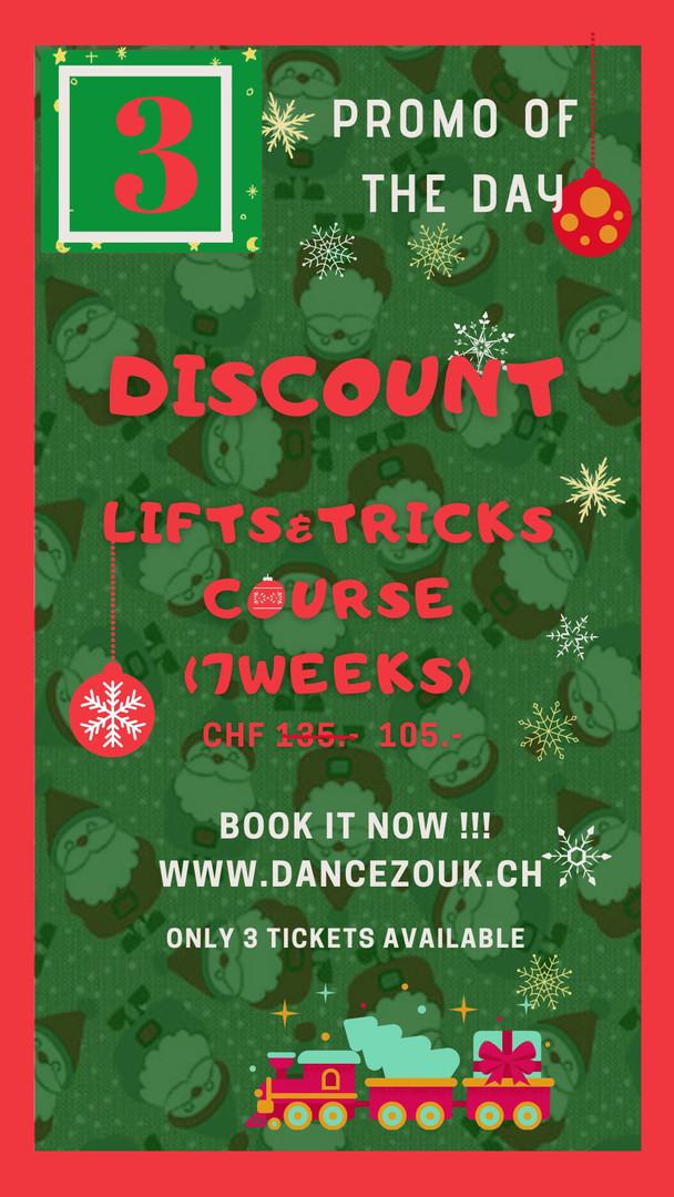 DanceZouk - Advent Calendar - Day 3