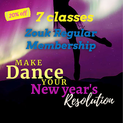 Zouk Member - New Years Deal