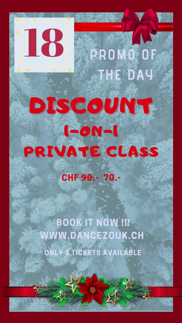 DanceZouk - Advent Calendar - Day 18