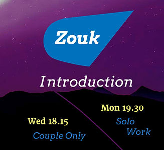 Zouk Introduction Courses for Solo and C