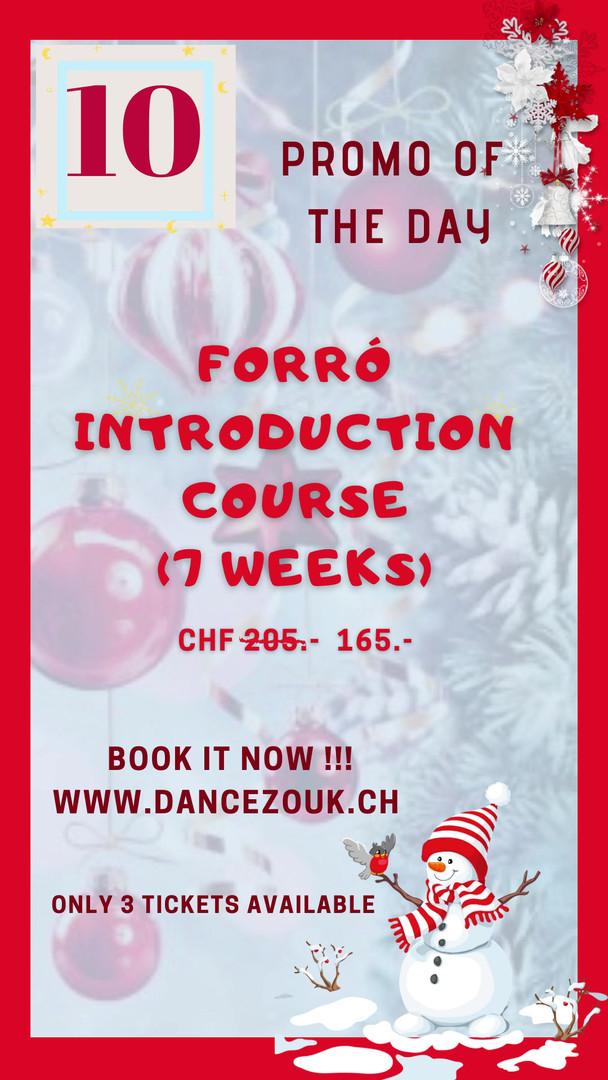 DanceZouk - Advent Calendar - Day 10